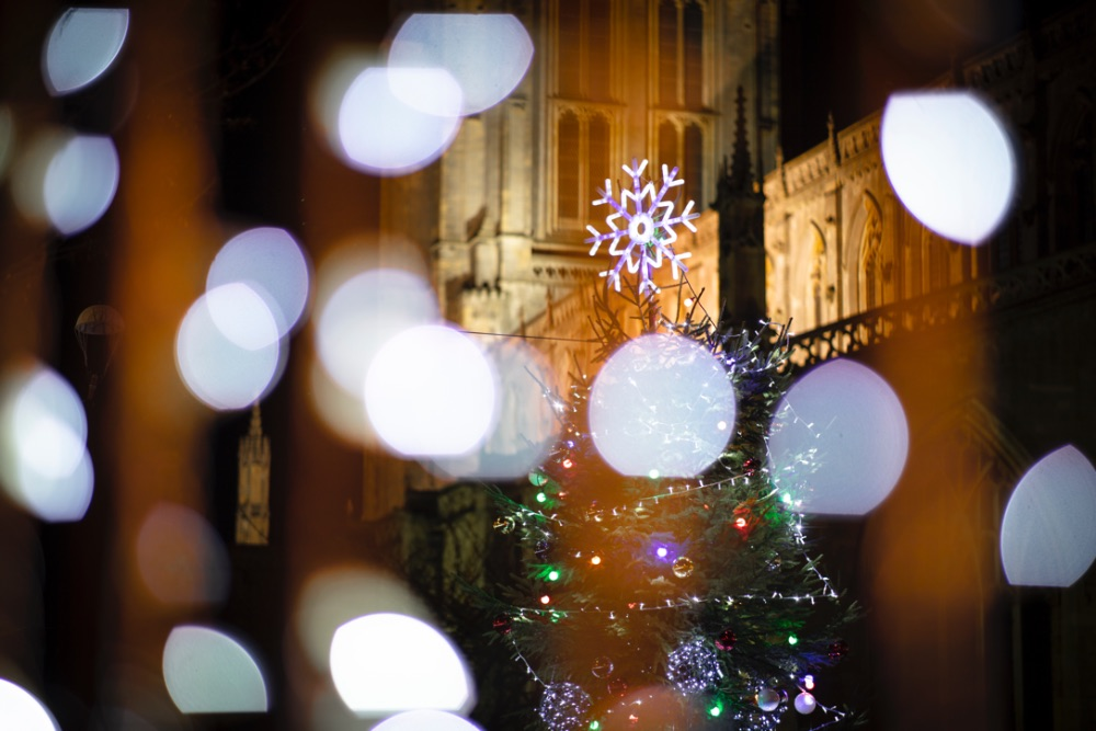 Virtual Christmas Lights Switch on for Boston