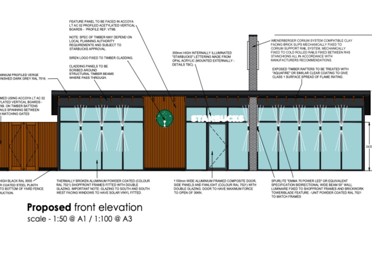 New Starbucks drive-thru proposed for outskirts of Boston