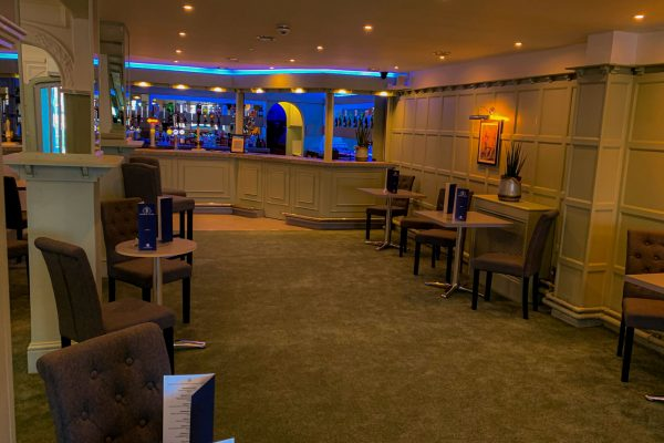 The Maya Lounge, a upgraded and renovated bar and lounge within The New England Hotel,