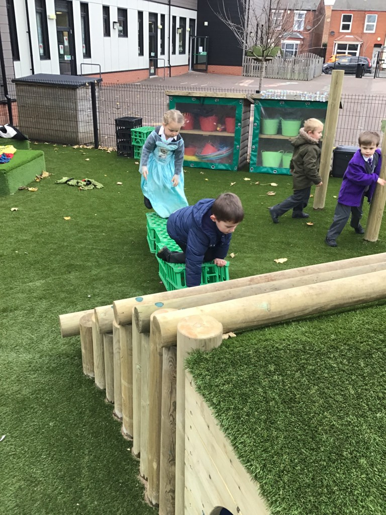 New play area for pupils at Boston Pioneers Academy
