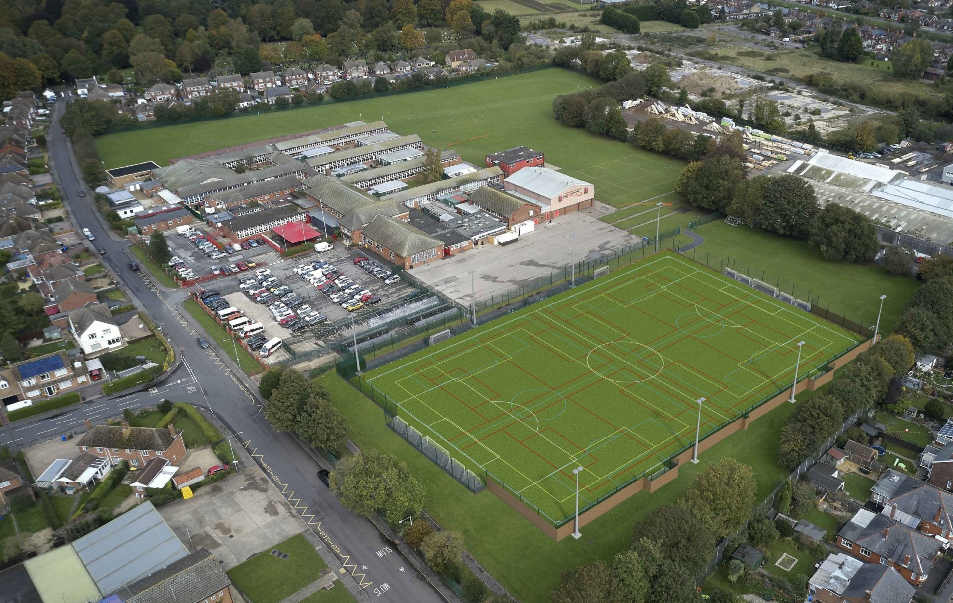 Haven High Academy's Community 3G Pitch Dream To Become Reality