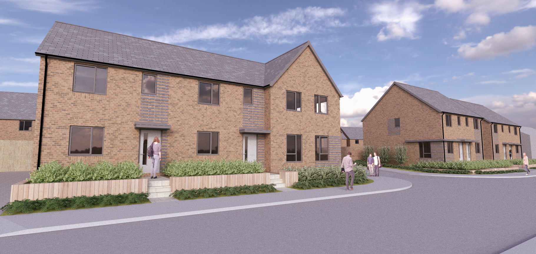 Planning permission granted for 47 affordable homes on former Magnadata site in Boston