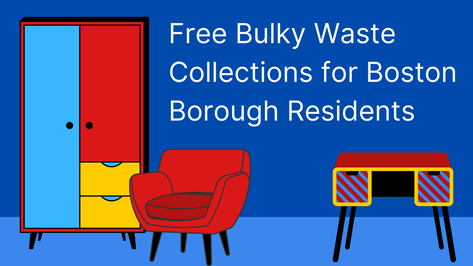 Free bulky waste collections for residents in fly-tipping clampdown