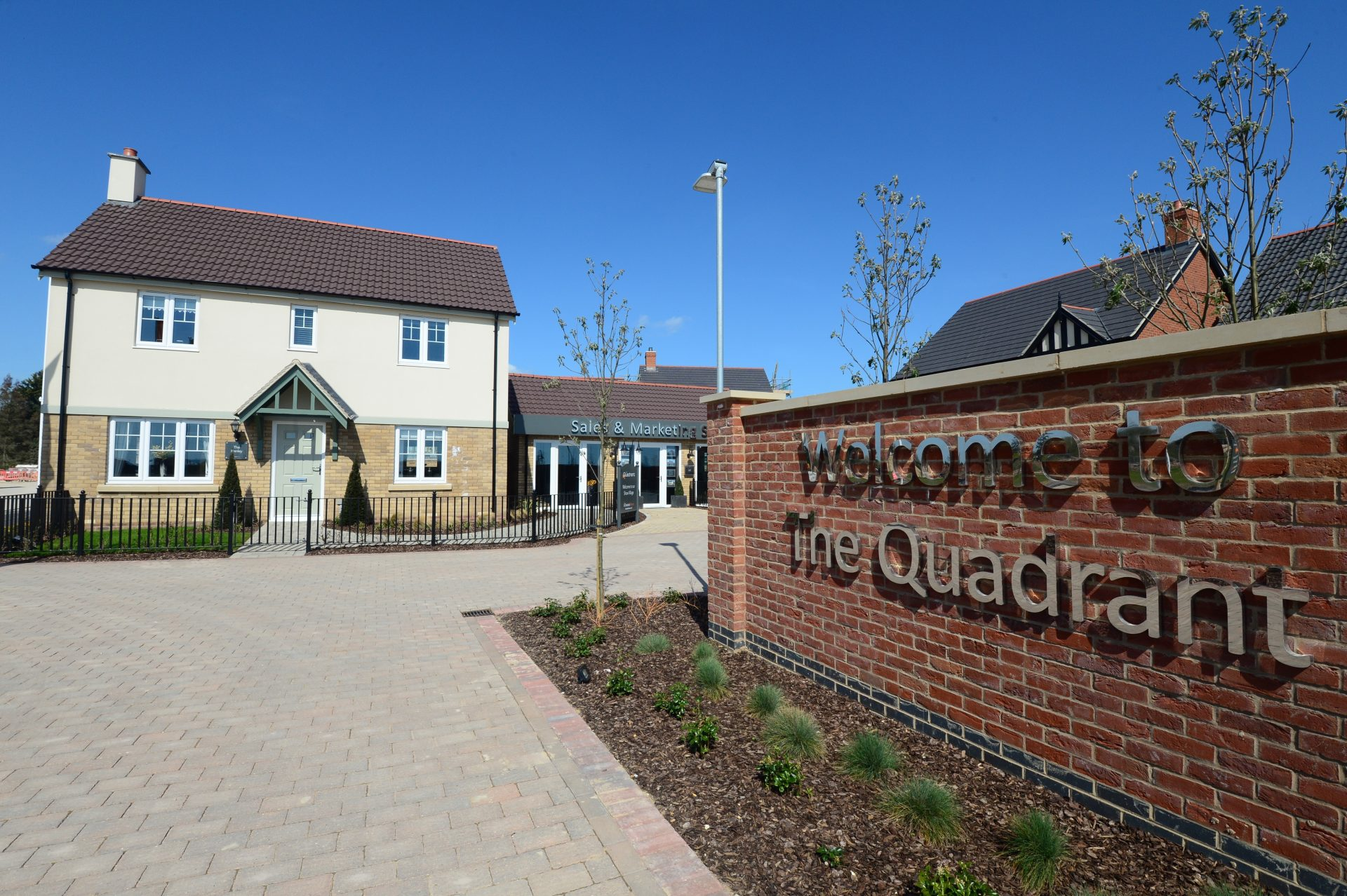 Two showhomes go on sale at The Quadrant