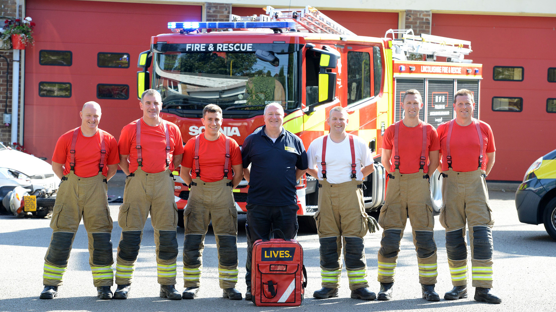 New trauma training for Lincolnshire firefighters